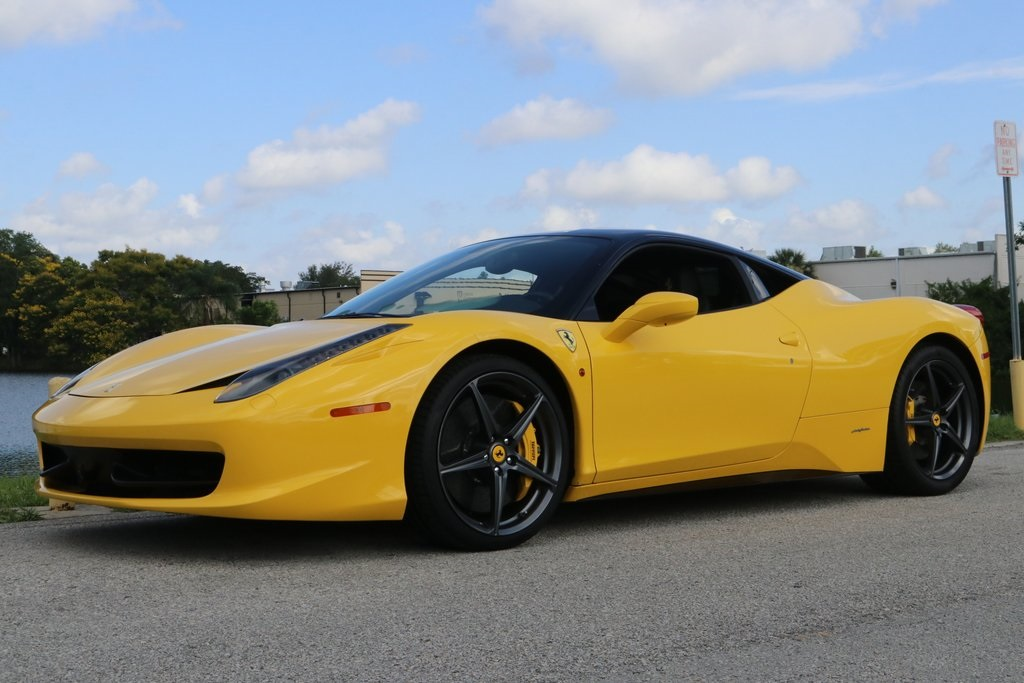 Pre-Owned 2010 Ferrari 458 Italia Base