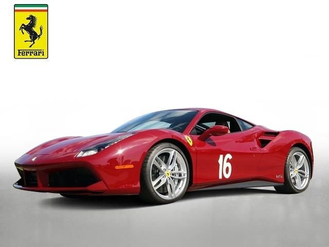 Certified Pre-Owned 2018 Ferrari 488 GTB 70th Anniversary Edition