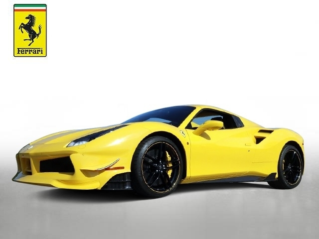 Certified Pre-Owned 2018 Ferrari 488 Spider 488 Spider