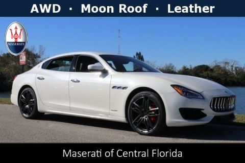 New 2019 Maserati Quattroporte S with Navigation
