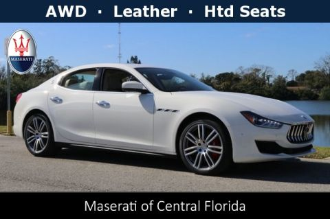 New 2019 Maserati Ghibli S Q4 with Navigation & AWD