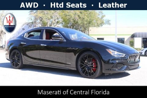 New 2019 Maserati Ghibli S Q4 GranSport AWD
