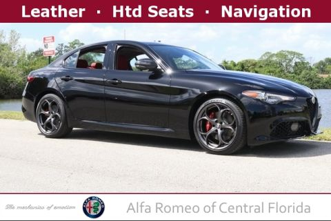 New 2019 Alfa Romeo Giulia Ti with Navigation