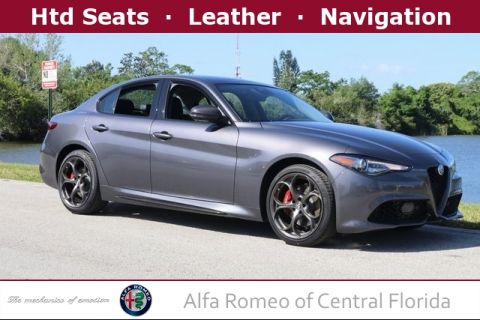 New 2019 Alfa Romeo Giulia Ti with Navigation & AWD