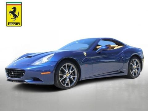 Certified Pre-Owned 2011 Ferrari California