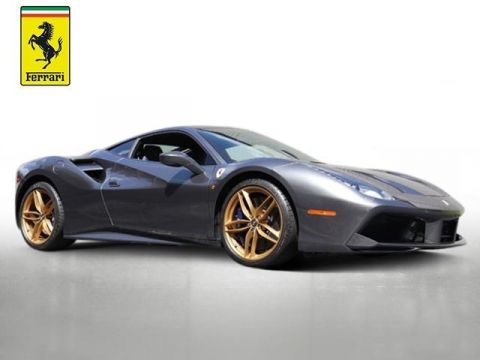 Pre-Owned 2017 Ferrari 488 GTB Base