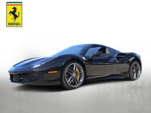 Pre-Owned 2018 Ferrari 488 Spider Base